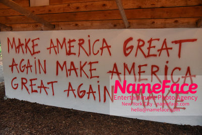 NY: 23rd Annual Watermill Center Summer Benefit & Auction Make America Great Again - Art Atmonsphere - NameFace Photo Agency New York City - hello@nameface.com - nameface.com - Photo by Steve Eichner