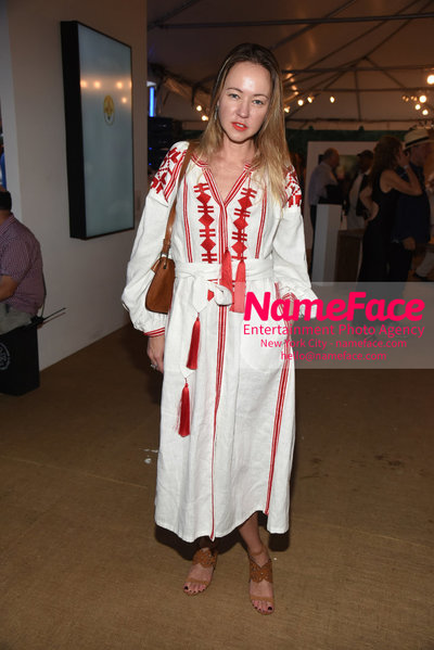 NY: 23rd Annual Watermill Center Summer Benefit & Auction Anna Nikolayevsky - NameFace Photo Agency New York City - hello@nameface.com - nameface.com - Photo by Steve Eichner