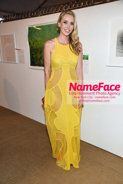 NY: 23rd Annual Watermill Center Summer Benefit & Auction Melanie Lazenby - NameFace Photo Agency New York City - hello@nameface.com - nameface.com - Photo by Steve Eichner