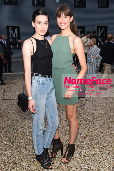 NY: 23rd Annual Watermill Center Summer Benefit & Auction Melatti Scheffer and Guest - NameFace Photo Agency New York City - hello@nameface.com - nameface.com - Photo by Steve Eichner