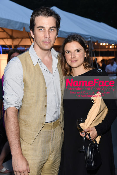 NY: 23rd Annual Watermill Center Summer Benefit & Auction Jamie Johnson and Guest - NameFace Photo Agency New York City - hello@nameface.com - nameface.com - Photo by Steve Eichner