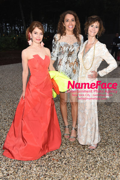 NY: 23rd Annual Watermill Center Summer Benefit & Auction Jean Shafiroff, Lieba Nesis and Lee Fryd - NameFace Photo Agency New York City - hello@nameface.com - nameface.com - Photo by Steve Eichner