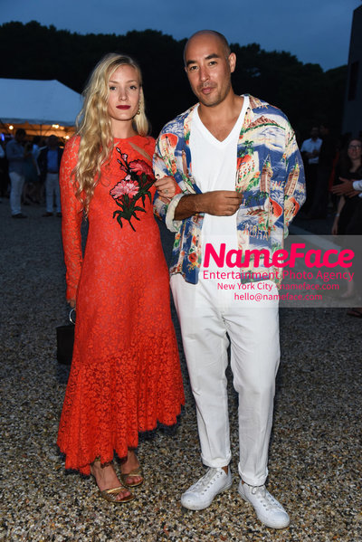 NY: 23rd Annual Watermill Center Summer Benefit & Auction Kate Foley and Max Osterweis - NameFace Photo Agency New York City - hello@nameface.com - nameface.com - Photo by Steve Eichner