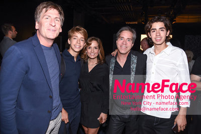 NY: Artistix Front Row -  New York Fashion Week Spring Summer 2017 Guest, Will Hilfiger, Kim Hilfiger, Andy Hilfiger and Andrew Hilfiger - NameFace Photo Agency New York City - hello@nameface.com - nameface.com - Photo by Steve Eichner