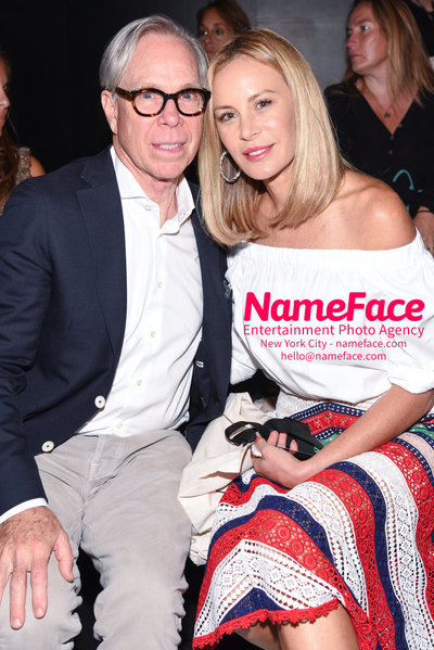 NY: Artistix Front Row -  New York Fashion Week Spring Summer 2017 Tommy Hilfger and Dee Ocleppo - NameFace Photo Agency New York City - hello@nameface.com - nameface.com - Photo by Steve Eichner