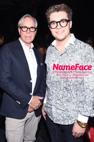 NY: Artistix Front Row -  New York Fashion Week Spring Summer 2017 Tommy Hilfiger and Jake Millar - NameFace Photo Agency New York City - hello@nameface.com - nameface.com - Photo by Steve Eichner