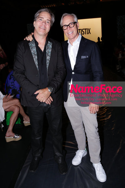 NY: Artistix Front Row -  New York Fashion Week Spring Summer 2017 Andy Hilfiger and Tommy Hilfiger - NameFace Photo Agency New York City - hello@nameface.com - nameface.com - Photo by Steve Eichner
