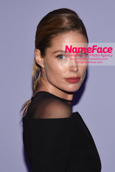 Tom Ford Womens - Runway Show FW18 Doutzen Kroes - NameFace Photo Agency New York City - hello@nameface.com - nameface.com - Photo by Steve Eichner