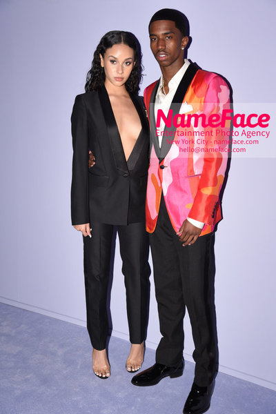 Tom Ford Womens - Runway Show FW18 Guest and Christian Combs - NameFace Photo Agency New York City - hello@nameface.com - nameface.com - Photo by Steve Eichner