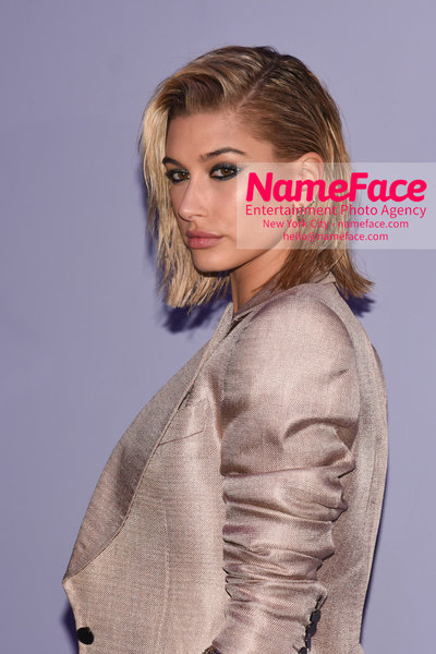 Tom Ford Womens - Runway Show FW18 Hailey Baldwin - NameFace Photo Agency New York City - hello@nameface.com - nameface.com - Photo by Steve Eichner