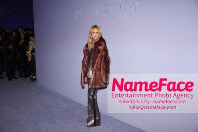 Tom Ford Womens - Runway Show FW18 Rachel Zoe - NameFace Photo Agency New York City - hello@nameface.com - nameface.com - Photo by Steve Eichner