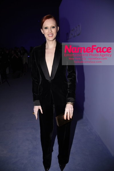 Tom Ford Womens - Runway Show FW18 Karen Elson - NameFace Photo Agency New York City - hello@nameface.com - nameface.com - Photo by Steve Eichner