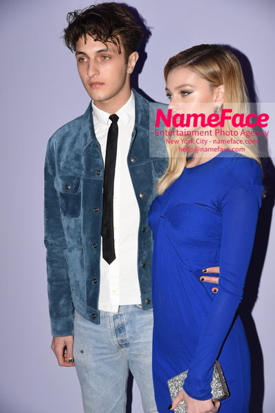 Tom Ford Womens - Runway Show FW18 Anwar Hadid and Nicola Peltz - NameFace Photo Agency New York City - hello@nameface.com - nameface.com - Photo by Steve Eichner