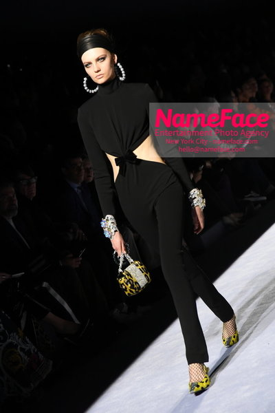 Tom Ford Womens - Runway Show FW18 Model - NameFace Photo Agency New York City - hello@nameface.com - nameface.com - Photo by Steve Eichner