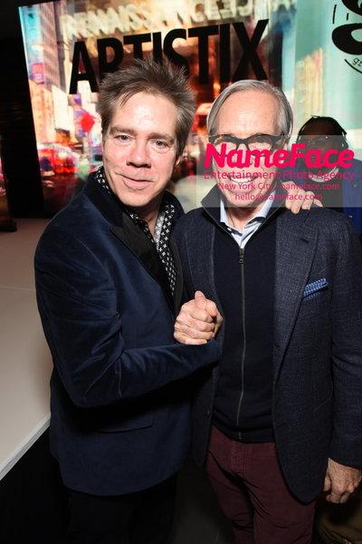 Artistix Fashion Show NYFW Greg Polisseni Andy Hilfiger and Tommy Hilfiger - NameFace Photo Agency New York City - hello@nameface.com - nameface.com - Photo by Steve Eichner