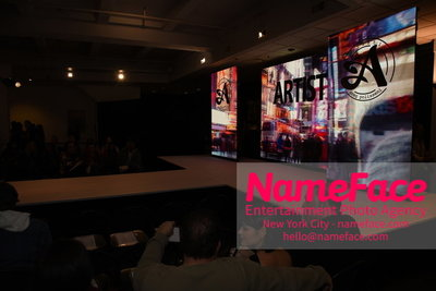 Artistix Fashion Show NYFW Greg Polisseni Atmosphere - NameFace Photo Agency New York City - hello@nameface.com - nameface.com - Photo by Steve Eichner