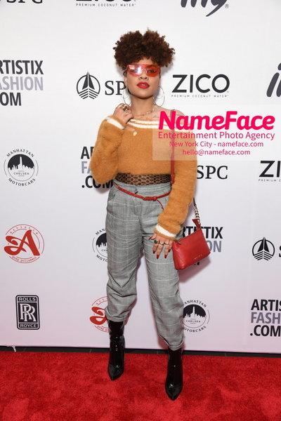 Artistix Fashion Show NYFW Greg Polisseni Guest - NameFace Photo Agency New York City - hello@nameface.com - nameface.com - Photo by Steve Eichner