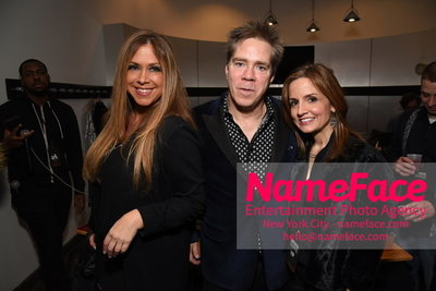 Artistix Fashion Show NYFW Greg Polisseni Samantha Cole, Andy Hilfiger and Kim Hilfiger - NameFace Photo Agency New York City - hello@nameface.com - nameface.com - Photo by Steve Eichner