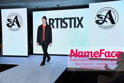 Artistix Fashion Show NYFW Greg Polisseni Model - NameFace Photo Agency New York City - hello@nameface.com - nameface.com - Photo by Steve Eichner