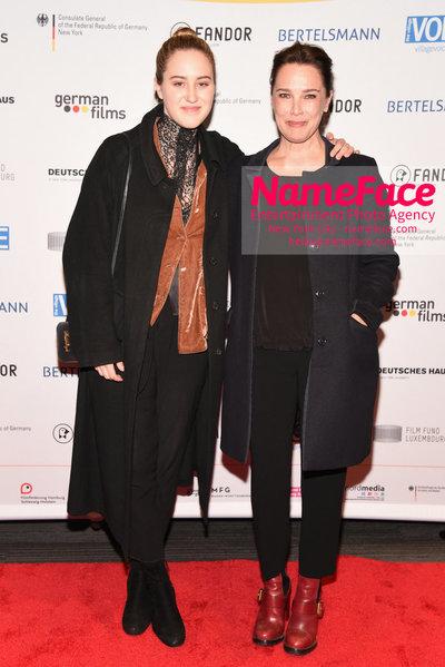 KINO!2018 Festival of German Films at the Landmark Luka Teresa-Gerda Kloser - NameFace Photo Agency New York City - hello@nameface.com - nameface.com - Photo by Daniela Kirsch