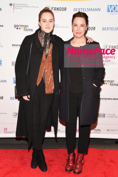 KINO!2018 Festival of German Films at the Landmark Luka Teresa-Gerda Kloser and Desiree Nosbusch - NameFace Photo Agency New York City - hello@nameface.com - nameface.com - Photo by Daniela Kirsch