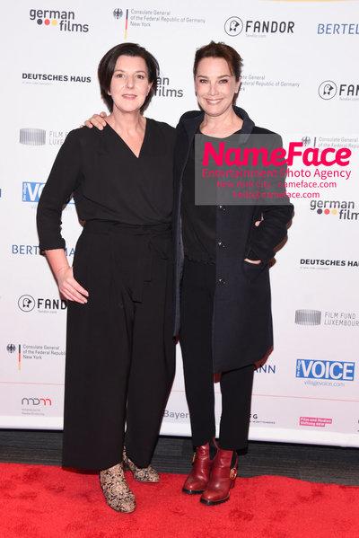 KINO!2018 Festival of German Films at the Landmark Lisa Blumenberg and Desiree Nosbusch - NameFace Photo Agency New York City - hello@nameface.com - nameface.com - Photo by Daniela Kirsch