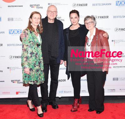 KINO!2018 Festival of German Films at the Landmark Mariette Rissenbeek, Matti Geschonneck, Desiree Nosbusch and Guest - NameFace Photo Agency New York City - hello@nameface.com - nameface.com - Photo by Daniela Kirsch