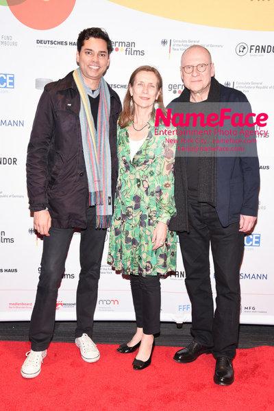 KINO!2018 Festival of German Films at the Landmark Rajendra Roy, Mariette Rissenbeek and Matti Geschonneck - NameFace Photo Agency New York City - hello@nameface.com - nameface.com - Photo by Daniela Kirsch