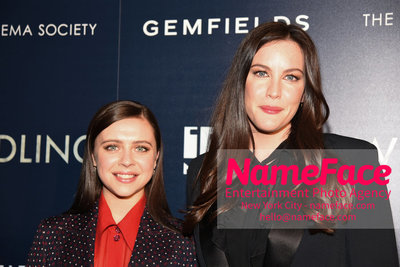 The Cinema Society and Gemfields host a screening of IFC Midnights Wildling Bel Powley and Liv Tyler - NameFace Photo Agency New York City - hello@nameface.com - nameface.com - Photo by Daniela Kirsch
