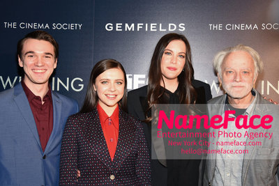 The Cinema Society and Gemfields host a screening of IFC Midnights Wildling Colin Kelly-Sordelet, Bel Powley, Liv Tyler and Brad Dourif - NameFace Photo Agency New York City - hello@nameface.com - nameface.com - Photo by Daniela Kirsch
