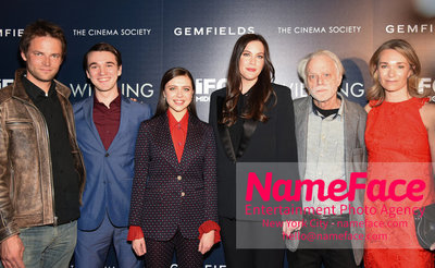 The Cinema Society and Gemfields host a screening of IFC Midnights Wildling Fritz Boehm, Colin Kelly-Sordelet, Bel Powley, Liv Tyler, Brad Dourif and Celine Rattray - NameFace Photo Agency New York City - hello@nameface.com - nameface.com - Photo by Daniela Kirsch