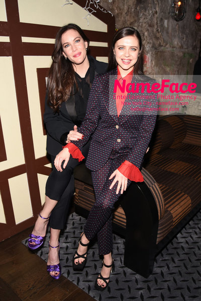 The Cinema Society and Gemfields host a screening of IFC Midnights Wildling - After Party Liv Tyler and Bel Powley - NameFace Photo Agency New York City - hello@nameface.com - nameface.com - Photo by Daniela Kirsch