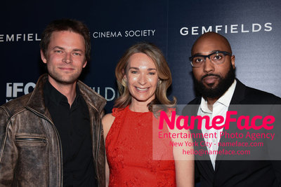The Cinema Society and Gemfields host a screening of IFC Midnights Wildling Fritz Boehm, Celine Rattray and Guest - NameFace Photo Agency New York City - hello@nameface.com - nameface.com - Photo by Daniela Kirsch
