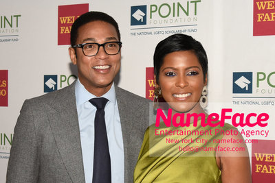 Point Foundation Hosts Annual Point Honors New York Gala Celebrating The Accomplishments Of LGBTQ Students Don Lemon and Tamron Hall - NameFace Photo Agency New York City - hello@nameface.com - nameface.com - Photo by Daniela Kirsch