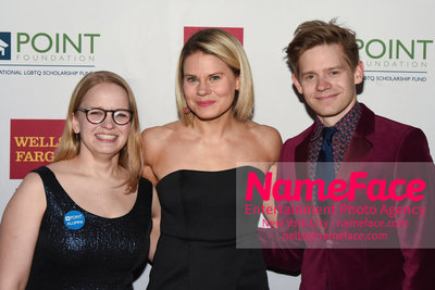 Point Foundation Hosts Annual Point Honors New York Gala Celebrating The Accomplishments Of LGBTQ Students Guest, Celia Keenan-Bolger and Andrew Keenan-Bolger - NameFace Photo Agency New York City - hello@nameface.com - nameface.com - Photo by Daniela Kirsch