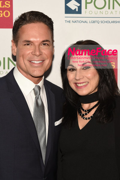Point Foundation Hosts Annual Point Honors New York Gala Celebrating The Accomplishments Of LGBTQ Students Jorge Valencia and Valerie Smaldone - NameFace Photo Agency New York City - hello@nameface.com - nameface.com - Photo by Daniela Kirsch