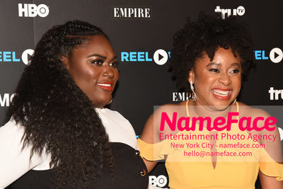 REEL WORKS BENEFIT GALA 2018 Danielle Brooks and Phoebe Robinson - NameFace Photo Agency New York City - hello@nameface.com - nameface.com - Photo by Daniela Kirsch