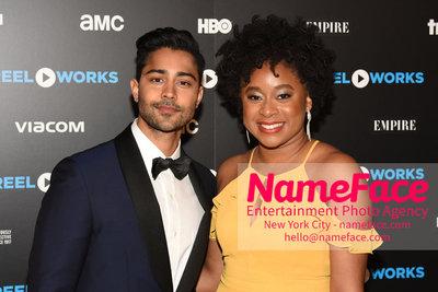 REEL WORKS BENEFIT GALA 2018 Manish Dayal and Phoebe Robinson - NameFace Photo Agency New York City - hello@nameface.com - nameface.com - Photo by Daniela Kirsch