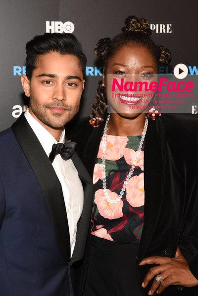 REEL WORKS BENEFIT GALA 2018 Manish Dayal and Yolonda Ross - NameFace Photo Agency New York City - hello@nameface.com - nameface.com - Photo by Daniela Kirsch
