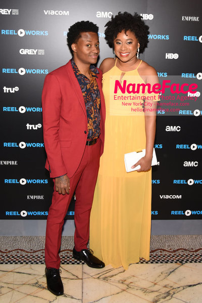 REEL WORKS BENEFIT GALA 2018 Nore Davis and Phoebe Robinson - NameFace Photo Agency New York City - hello@nameface.com - nameface.com - Photo by Daniela Kirsch