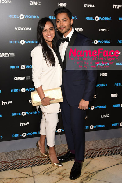 REEL WORKS BENEFIT GALA 2018 Snehal Patel and Manish Dayal - NameFace Photo Agency New York City - hello@nameface.com - nameface.com - Photo by Daniela Kirsch
