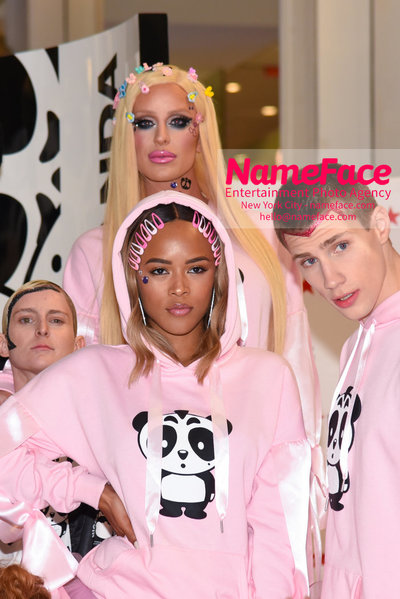 Macys Herald Square Hosts The Nicopanda Ball In Celebration Of Collection Launch Gigi Gorgeous and Serayah - NameFace Photo Agency New York City - hello@nameface.com - nameface.com - Photo by Daniela Kirsch