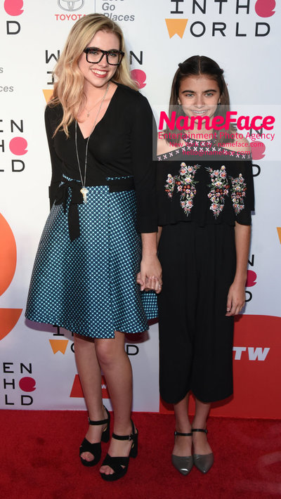 9th Annual Women in the World Summit, Arrivals Delaney Tarr and Cassidy Tarr - NameFace Photo Agency New York City - hello@nameface.com - nameface.com - Photo by Daniela Kirsch