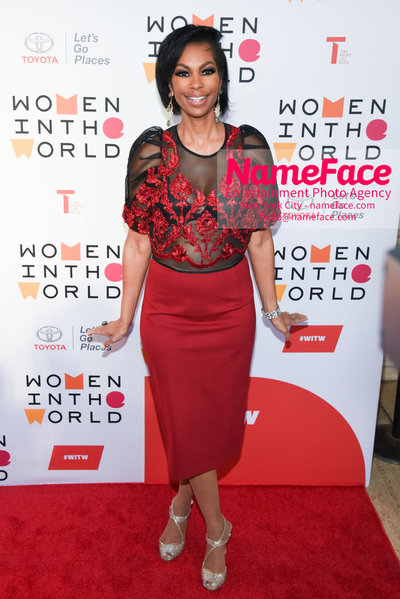 9th Annual Women in the World Summit, Arrivals Harris Faulkner - NameFace Photo Agency New York City - hello@nameface.com - nameface.com - Photo by Daniela Kirsch