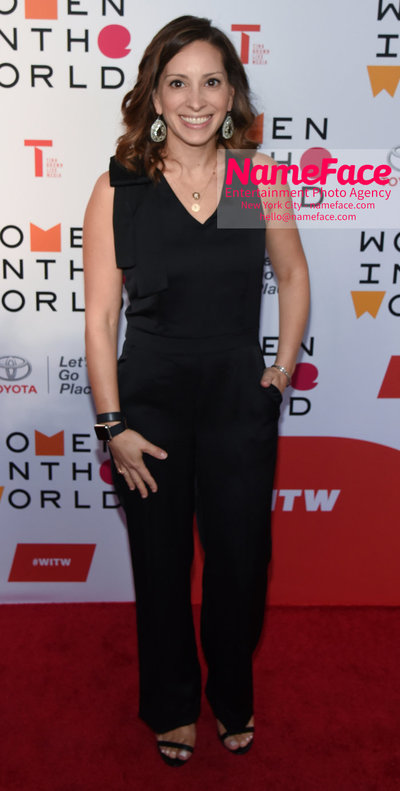 9th Annual Women in the World Summit, Arrivals Leah Busque - NameFace Photo Agency New York City - hello@nameface.com - nameface.com - Photo by Daniela Kirsch