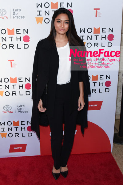 9th Annual Women in the World Summit, Arrivals Ambra Battilana Gutierrez - NameFace Photo Agency New York City - hello@nameface.com - nameface.com - Photo by Daniela Kirsch