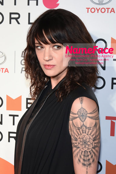 9th Annual Women in the World Summit, Arrivals Asia Argento - NameFace Photo Agency New York City - hello@nameface.com - nameface.com - Photo by Daniela Kirsch