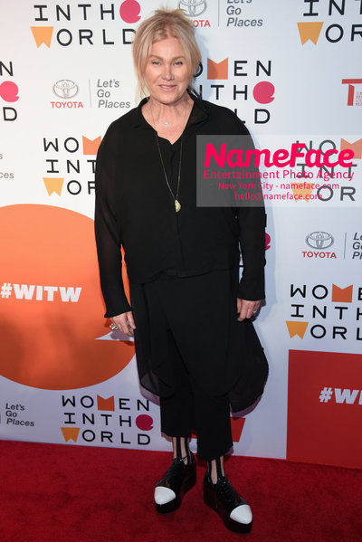 9th Annual Women in the World Summit, Arrivals Deborra-Lee Furness - NameFace Photo Agency New York City - hello@nameface.com - nameface.com - Photo by Daniela Kirsch