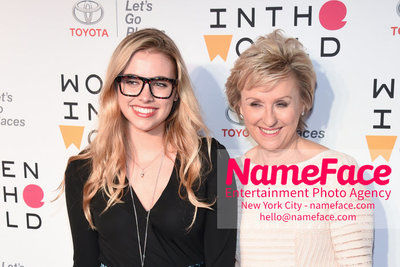 9th Annual Women in the World Summit, Arrivals Delaney Tarr and Tina Brown - NameFace Photo Agency New York City - hello@nameface.com - nameface.com - Photo by Daniela Kirsch