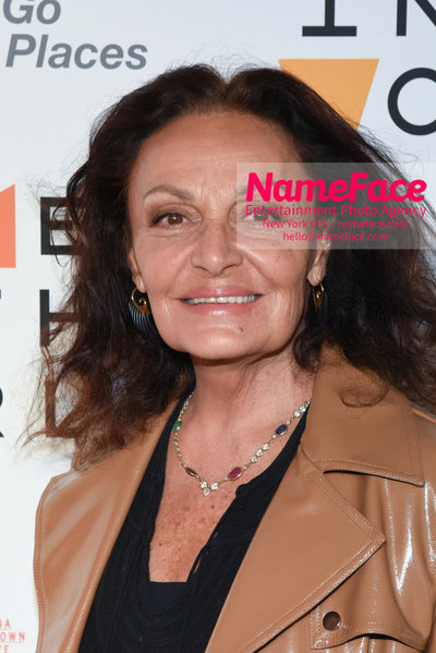 9th Annual Women in the World Summit, Arrivals Diane von Furstenberg - NameFace Photo Agency New York City - hello@nameface.com - nameface.com - Photo by Daniela Kirsch